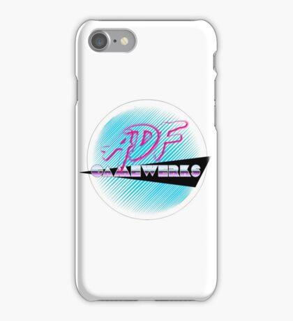 ADF Gamewerks Logo Arcade iPhone Case/Skin