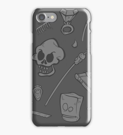 The Curse of Monkey Island Inventory (gray) iPhone Case/Skin