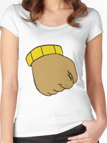 Arthur's Fist Women's Fitted Scoop T-Shirt