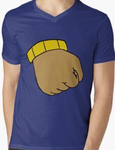 Arthur's Fist Mens V-Neck T-Shirt