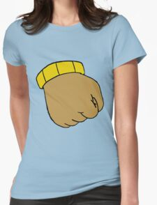 Arthur's Fist Womens Fitted T-Shirt