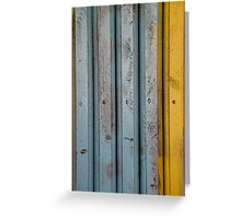 abstract grunge wood texture background Greeting Card