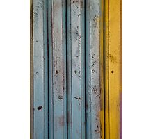 abstract grunge wood texture background Photographic Print