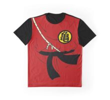Kid Goku Costume Graphic T-Shirt