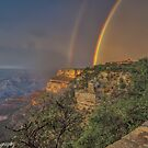 Summer Storm at the South Rim  by John  Kapusta