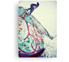 Urban Snowboarding in Plymouth Canvas Print