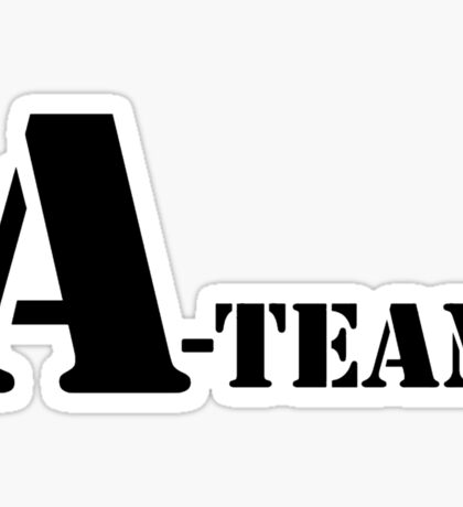 A Team Sticker