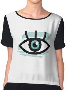 Eye Almighty Chiffon Top