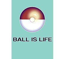 (Poke)Ball is Life Photographic Print
