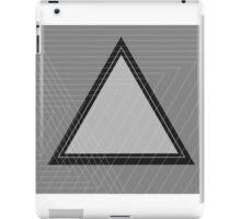 Grey Scale Triangle iPad Case/Skin
