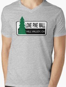 Lone Pine Mall - Back To The Future Mens V-Neck T-Shirt