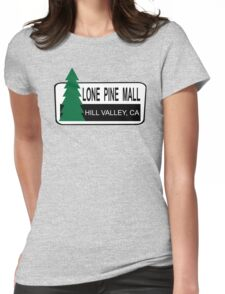 Lone Pine Mall - Back To The Future Womens Fitted T-Shirt