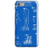 Barbie Doll Patent - Blueprint iPhone Case/Skin