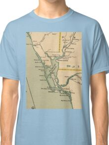 Vintage Map of Port Charlotte Florida (1896) Classic T-Shirt
