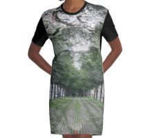 Bark Avenue Graphic T-Shirt Dress