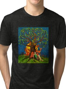 Nature Tree (Stylized) Tri-blend T-Shirt