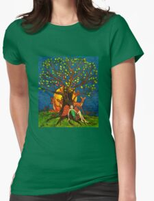 Nature Tree (Stylized) Womens Fitted T-Shirt