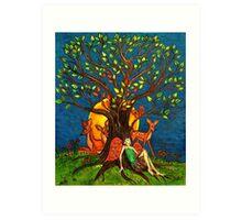 Nature Tree (Stylized) Art Print