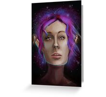 The Galaxy is Your Oyster Greeting Card