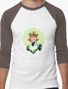 Pidge Flower Crown Men's Baseball ¾ T-Shirt