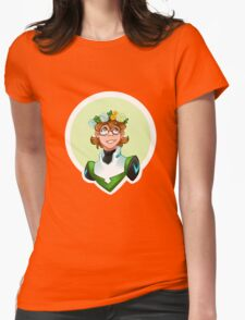 Pidge Flower Crown Womens Fitted T-Shirt
