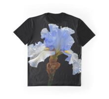 Hybrid Bearded Iris Graphic T-Shirt