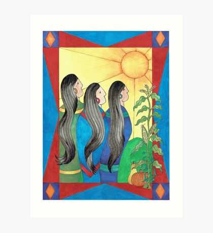 Three Sisters II Art Print