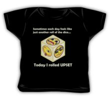 Just Another Roll of The Dice - upset hipster baby Baby Tee