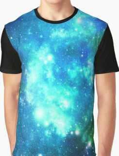 Blue Galaxy  Graphic T-Shirt
