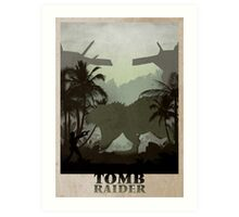 Tomb Raider 1 Art Print