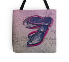 Sandals on the Beach Tote Bag