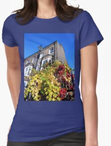 YORK RIVERSIDE WALK YORKSHIRE ENGLAND Womens Fitted T-Shirt