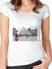 Le Louvre Women's Fitted Scoop T-Shirt