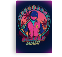 Deadly Miami Canvas Print