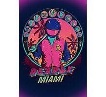 Deadly Miami Photographic Print