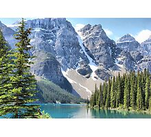 Moraine Lake - Valley of the Ten Peaks Photographic Print