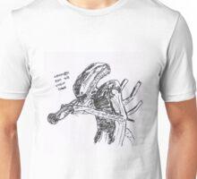 xenomorph runs the voodoo down Unisex T-Shirt