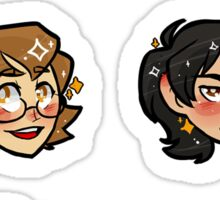 Voltron Icons Sticker