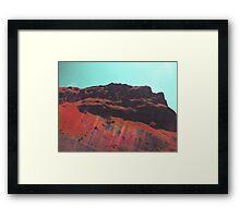 Rainbow Mountain - Brod, Kosovo Framed Print