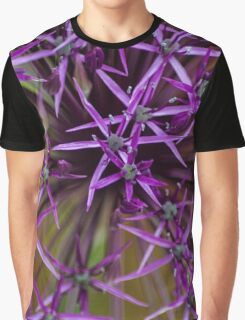 Purple star Graphic T-Shirt