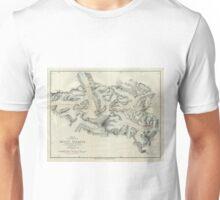 Vintage Map of Mount Everest (1921) Unisex T-Shirt