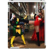 Rogue vs Ms Marvel iPad Case/Skin