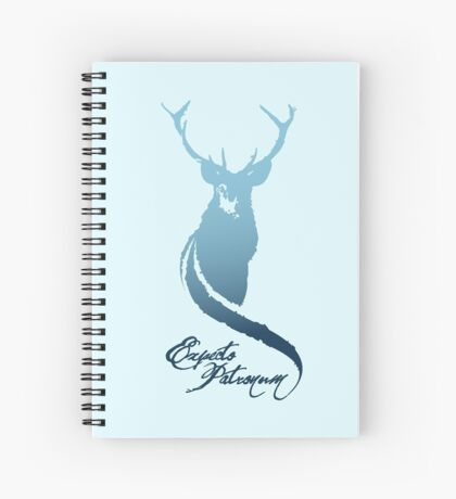 Expecto Patronum! (Stag) Spiral Notebook