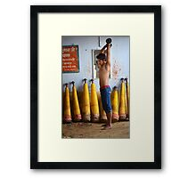 Workout Framed Print