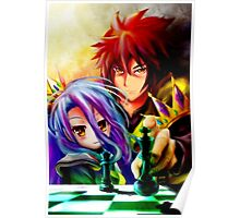 SORA AND SHIRO Poster