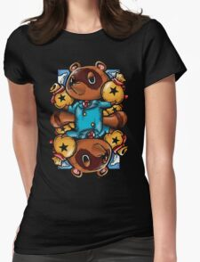 Tom Nook Womens Fitted T-Shirt