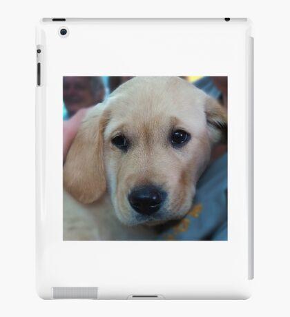 Guide puppy iPad Case/Skin