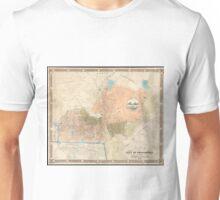 Vintage Map of Providence Rhode Island (1851) Unisex T-Shirt