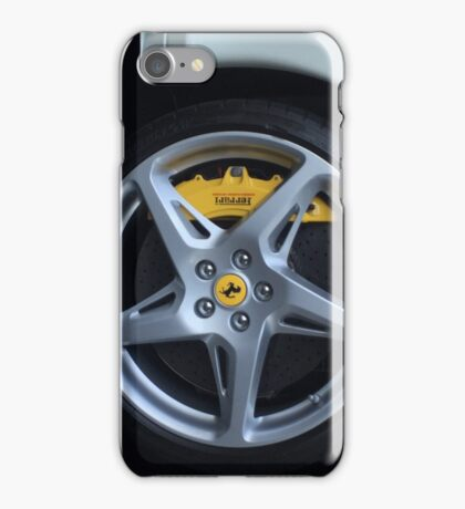 Ferrari 458 in white If you like, please purchase, try a cell phone cover thanks iPhone Case/Skin