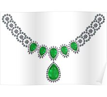 Duchess of Windsor's Emeralds Poster